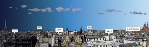 Panorama Paris -- Large 190x60 469€