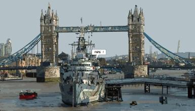 Tower Boat -- Medium 90x50 219€ // Large 140x80 429€