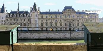 """Cour de cassation """"Chouchou"""" -- Medium 120x60 299€ // Large 160x80 479€"""