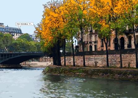 Quai d'Anjou -- Medium 100x70 259€ // Large 140x100 459€