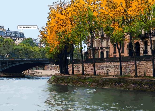 Quai d'Anjou -- Medium 100x70 259€ // Large 140x100 429€