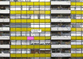 London Barbican Complaint -- Medium 100x70 259€ // Large 140x100 429€