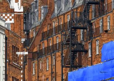 London Stairway -- Medium 100x70 259€ // Large 140x100 429€