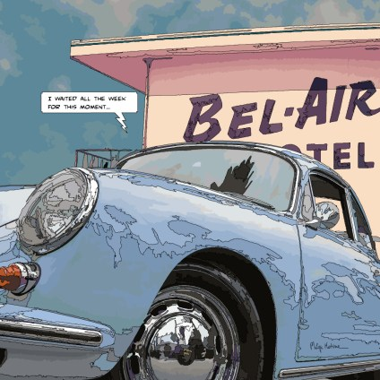 BelAir motel -- Medium 80x80 239€ // Large100x100 299€
