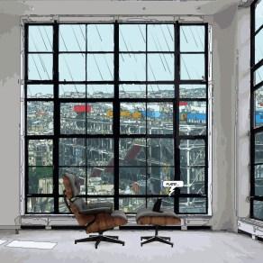 Loft fenetre carrée Purr -- Medium 80x80 239€ // Large 100x100 299€