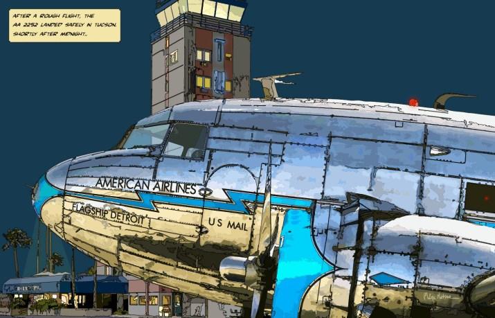 DC3 Tucson -- Medium 90x60 229€ // Large 140x90 449€