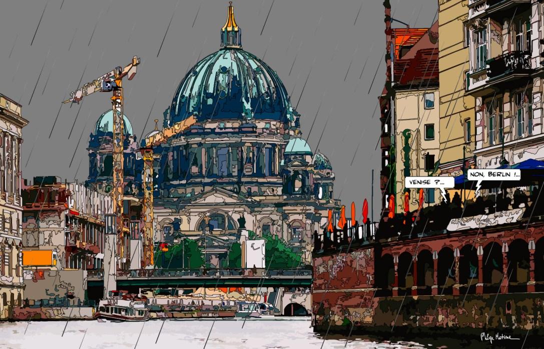 Berlin Venedig FR -- Medium 90x60 229€ // Large 140x90 429€