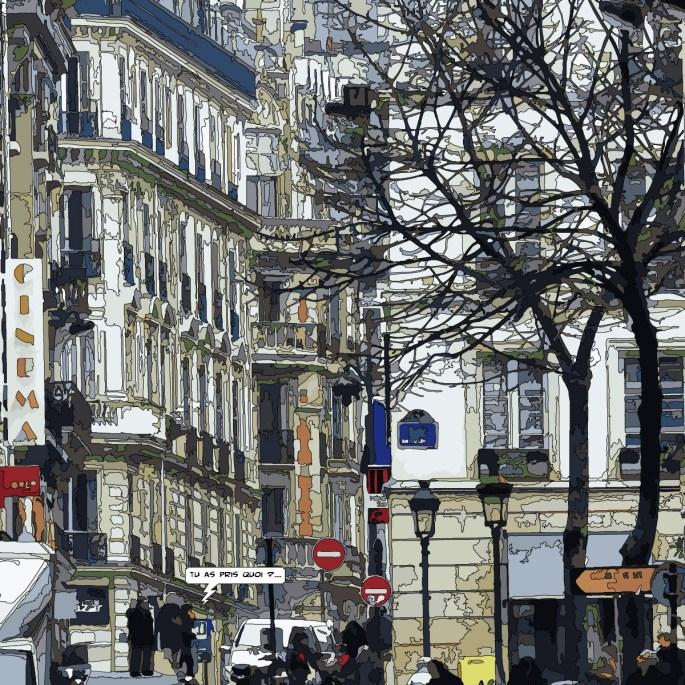 Sorbonne -- Medium 80x80 239€ // Large100x100 299€