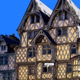 Angers // maison Adam jour -- Medium 80x80 239€ // Large 100x100 299€