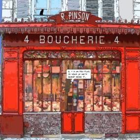 Boucherie -- Medium 80x80 239€ // Large 100x100 299€ // XLarge120x120 449€