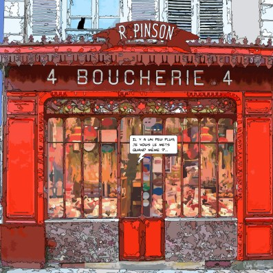 Boucherie -- Medium 80x80 249€ // Large 100x100 319€ // XLarge 120x120 479€