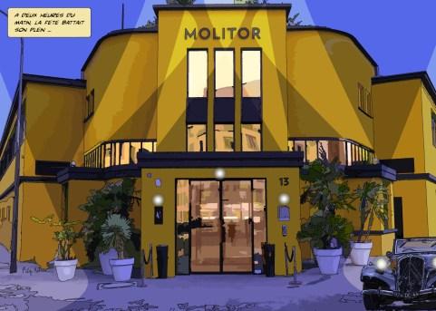 Molitor // extérieur -- Medium 100x70 259€ // Large 140x100 429€