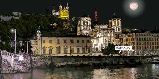Lyon // Quai St Jean -- Medium 100x50 229€ // Large 160x80 479€ // XLarge 180x90 579€