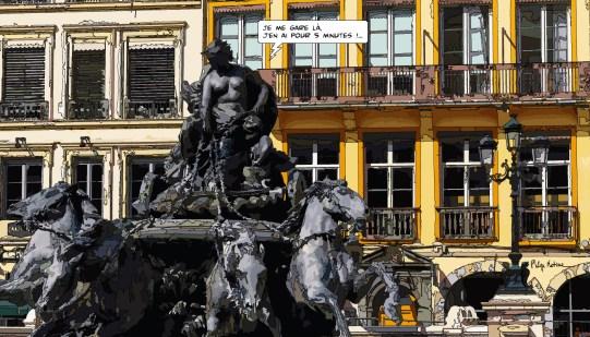 Lyon // Terreaux -- Medium 90x50 219€ // Large 140x80 429€