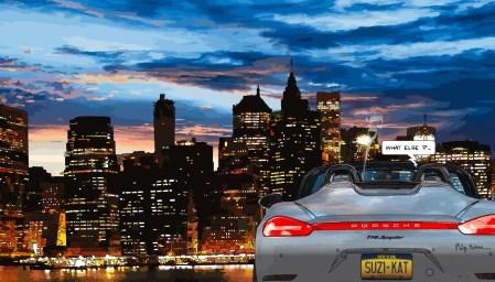 New York // 718 Spyder -- Medium 90x50 219€ // Large 140x80 429€