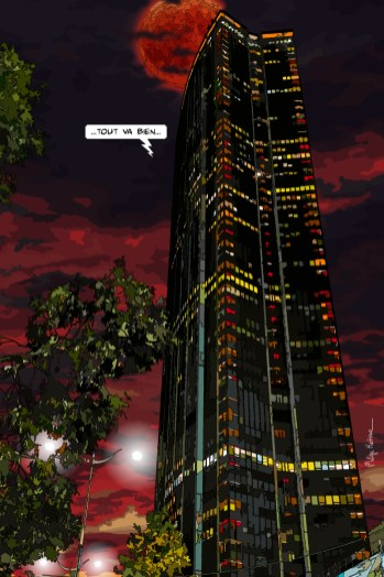 Paris // Tour Montparnasse nuit -- Medium 60x90 229€ // Large 80x120 359€