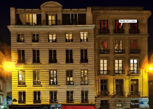 "Paris // ""petit chou"" -- Medium 100x70 259€ // Large 140x100 459€"
