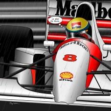 Senna // Monaco -- Medium 80x80 249€ // Large 100x100 319€ // XLarge 120x120 479€