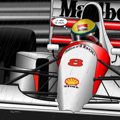 Senna // Monaco -- Medium 80x80 239€ // Large 100x100 299€ // XLarge 120x120 449€