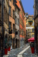 Lyon // Rue du Boeuf -- Medium 60x90 229€ // Large 80x120 359€