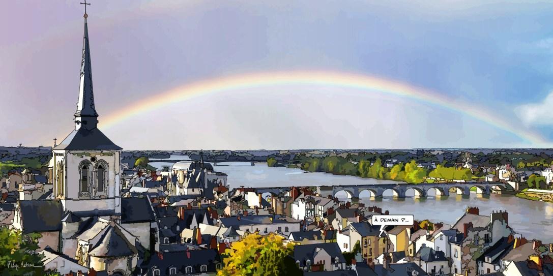 Saumur // à demain -- Medium 100x50 229€ // Large 160x80 479€
