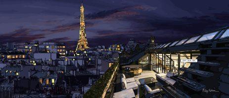 Paris // C'est celà -- Medium 100x50 229€ // Large 140x60 379€
