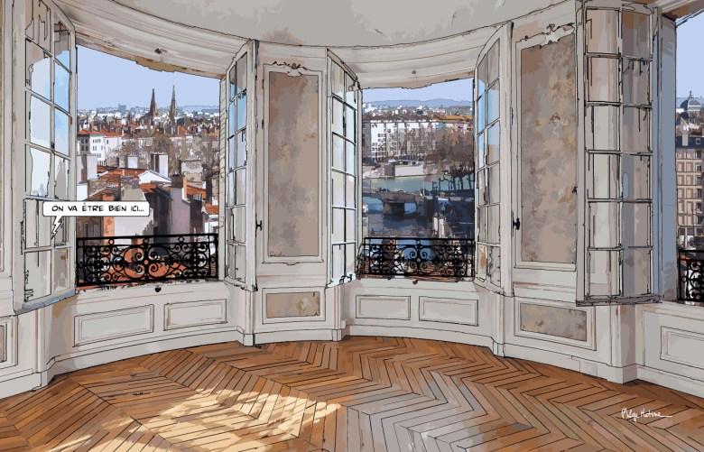 Lyon // Salon rond -- Medium 90x60 229€ // Large 140x90 449€