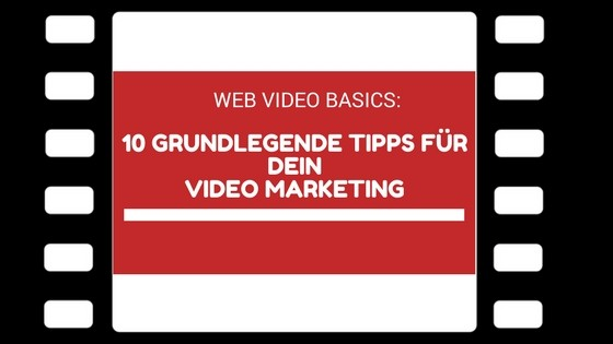 Web Video Basics - Beitragsbild