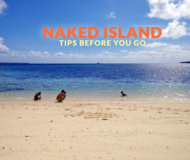 Naked Island Siargao Important Travel Tips Philippine Beach Guide