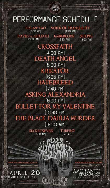 Bullet For My Valentine Live In Manila