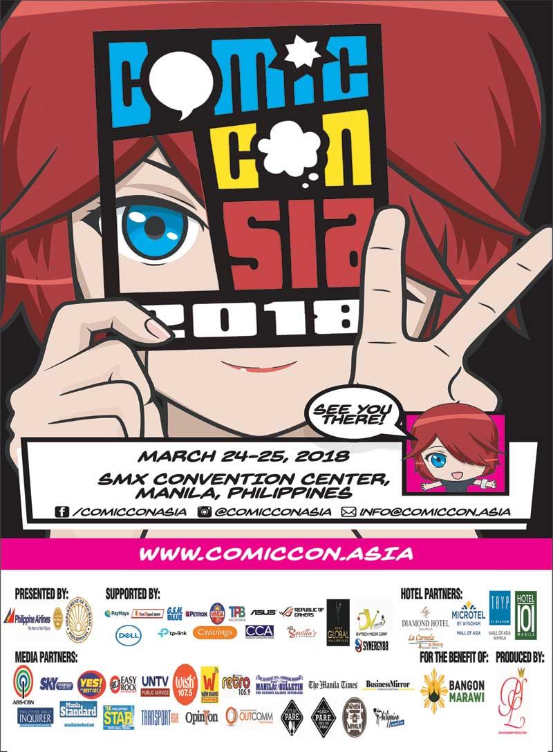 ComicCon Asia 2018 Philippine Concerts
