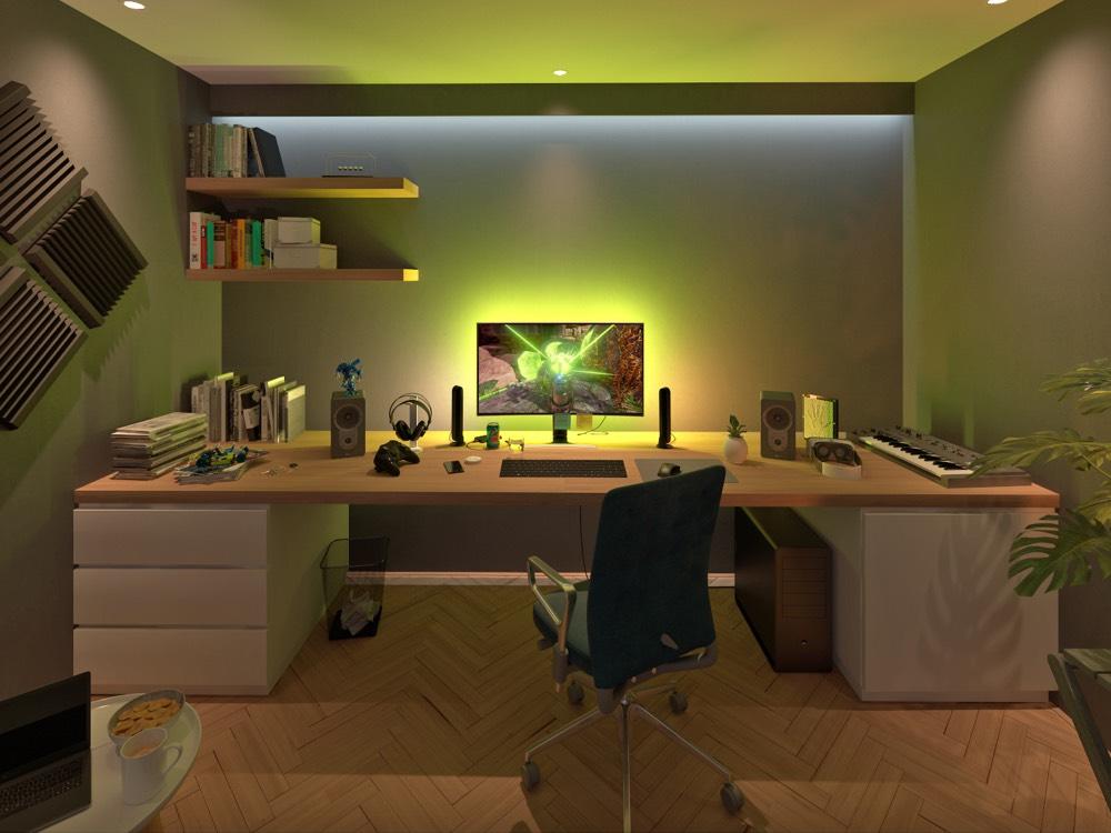 smart lighting in 360 philips hue