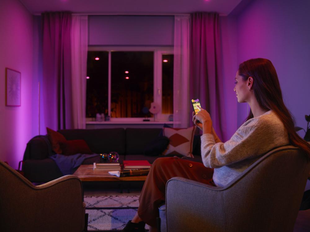 how philips hue smart lighting works