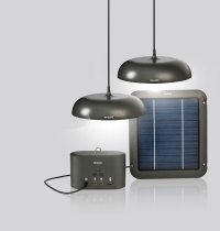 Solar-powered LED luminaires from Philips can brighten the ...