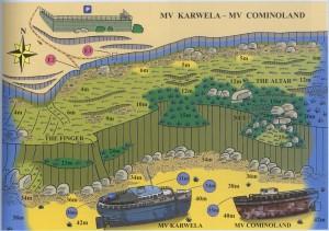 Plongée - MV Karwela