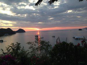 Coucher de soleil sur Labuan Bajo