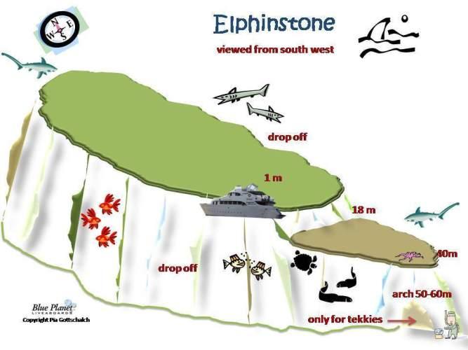 Elphinstone Versant Ouest