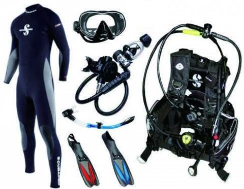 Equipement plongeur
