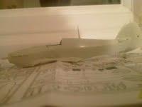 Hawker Hurricane in progress
