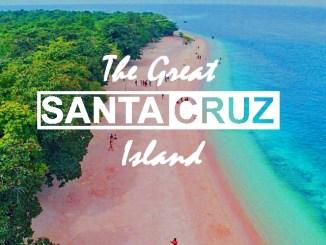 pink beach great santa cruz island zamboanga philippines