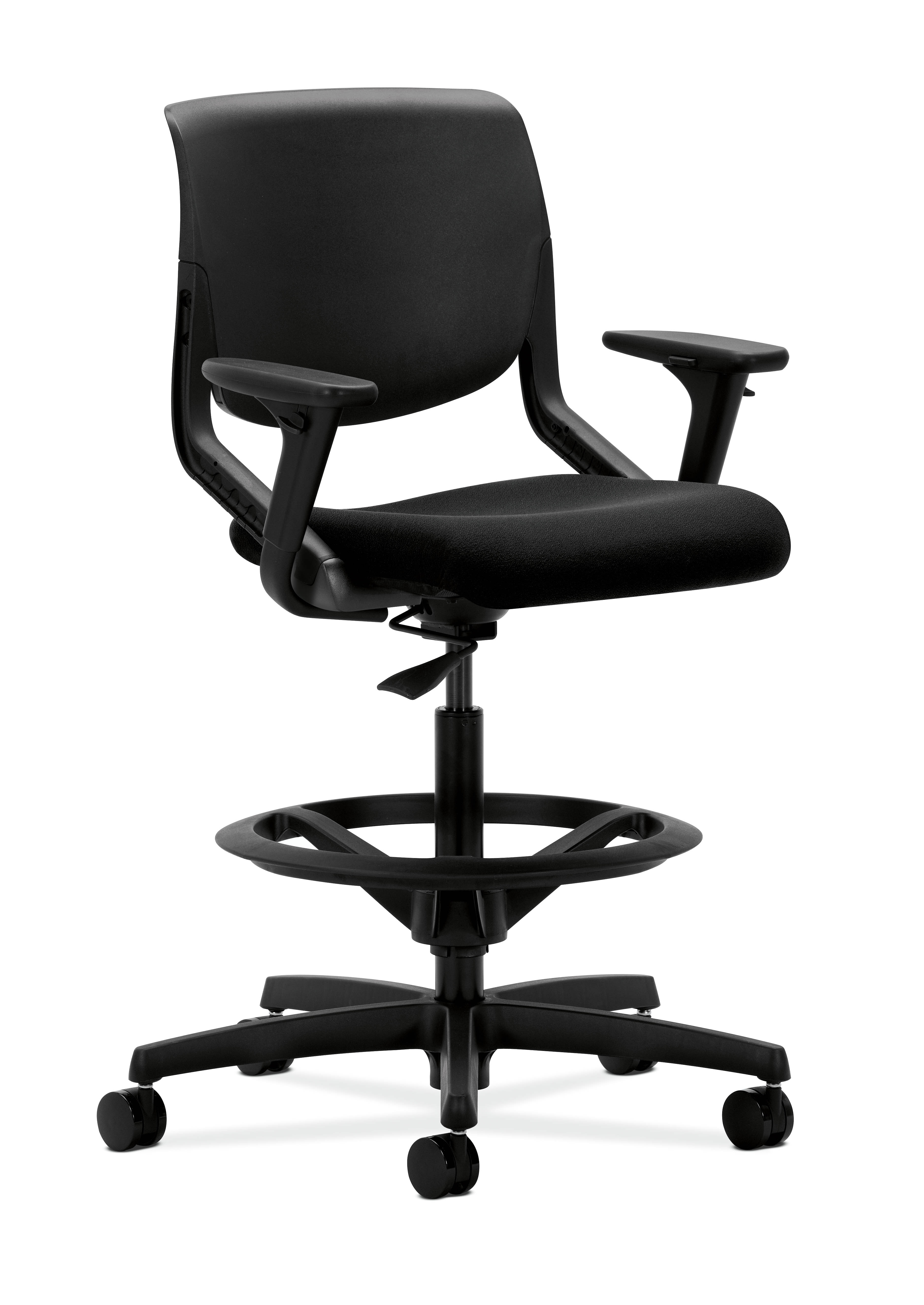 hon desk chair dining seat covers b and m office furniture