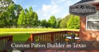 Texas Custom Patio Design | Patio Builders | Concrete Patio