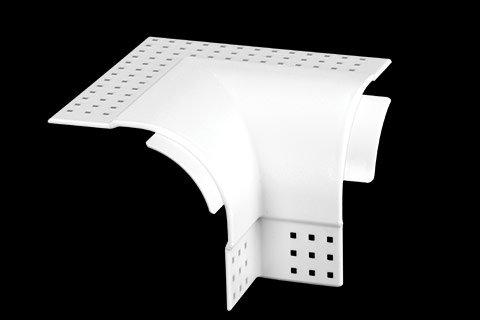 "gripstik vinyl drywall corner transition cap - 1-1/2"" bullnose rounded finish 2-way inside corner cap"