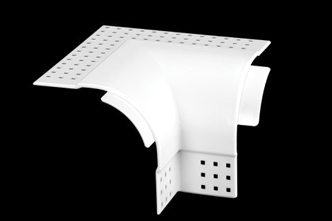 "gripstik vinyl drywall corner transition cap - 1-1/2"" bullnose rounded finish 2-way inside corner cap"