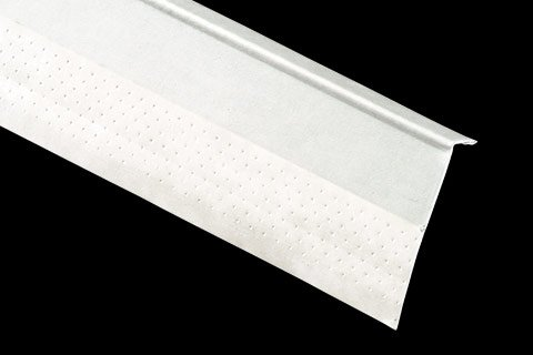 "kwikSTIK paper faced metal corner trim 1/2"" P4 L-Trim (PL1)"