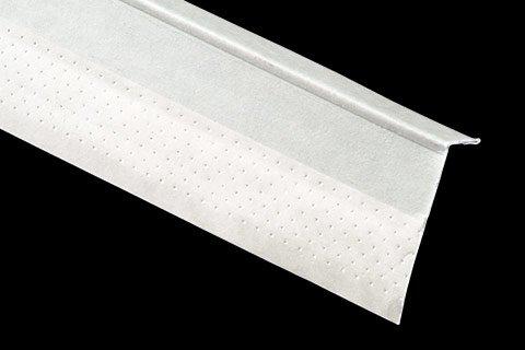 "kwikSTIK paper faced metal corner trim 5/8"" P4 L-Trim (PL5)"
