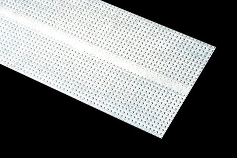 flat strap or flat stock designed as backing in drywall for mounting and reinforcement