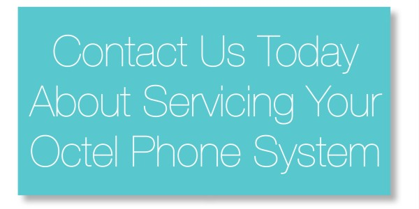 Contact us today about servicing your octel phone system.