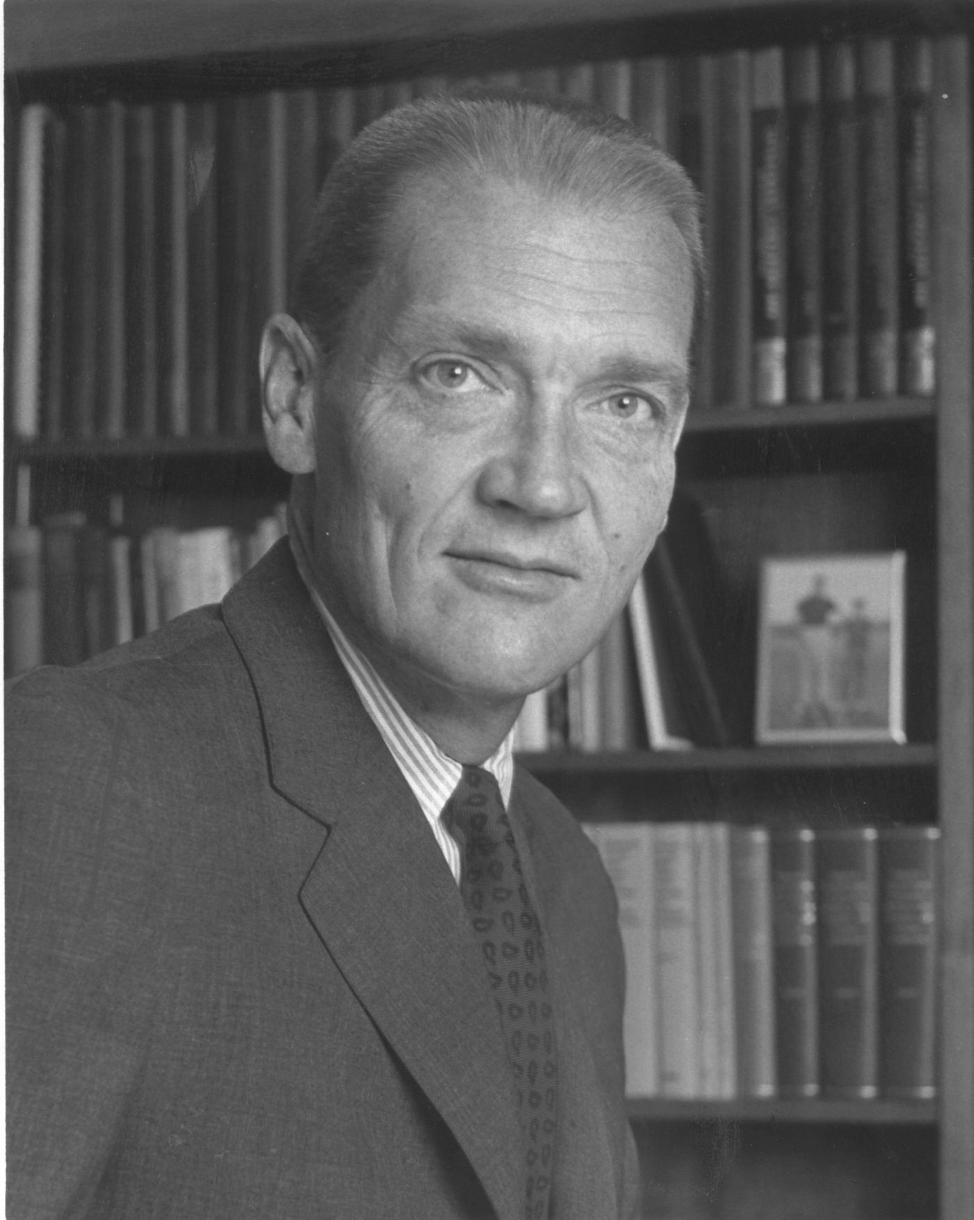 John C. Bogle, then chairman and president, Wellington Fund in 1974.