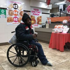 Wheelchair Man Chair Design Styles Police Interaction With In Again Raises Concerns About Handling Of Homeless At Suburban Station